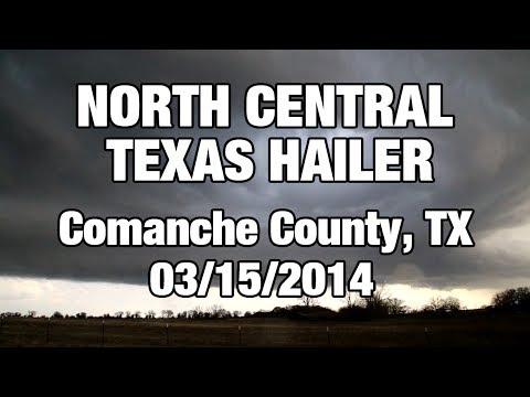 Comanche County, Texas Hailer (3/15/14)
