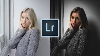 How to Edit Portraits Like @traf Instagram Lightroom Editing Tutorial Warm Dark Edit