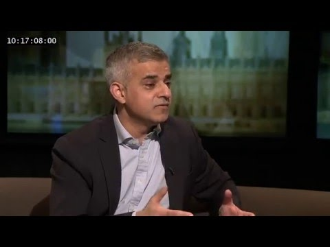 Zac Goldsmith vs Sadiq Khan - The Late Debate London Programme