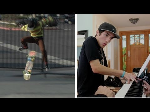 Skateboarding Teenager Becomes a Piano Prodigy
