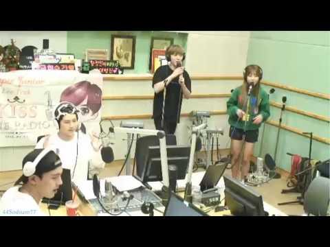 160830 KIHYUN & SEUNGYEON - U GO GIRL (Karaoke) @ Kiss the Radio