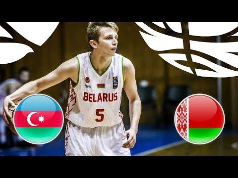 Azerbaijan v Belarus - Full Game - FIBA U20 European Championship Division B 2018