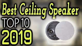 Best Ceiling Speaker 2020 [🔝Reviews]