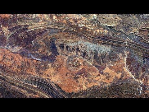 4K-View: EarthScapes (Hi-Res Sattelite Images) - UHD SlideShow - Gentle Instrumental Worship