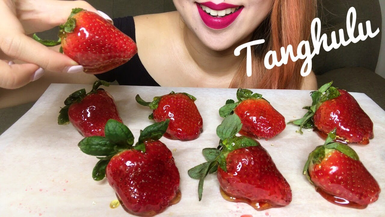 Asmr Candied Strawberries Tanghulu dz–葫芦 Crunchy Eating Sounds No Talking Youtube I attempted and succeeded at making tanghulu (candied strawberries). asmr candied strawberries tanghulu 糖葫芦 crunchy eating sounds no talking