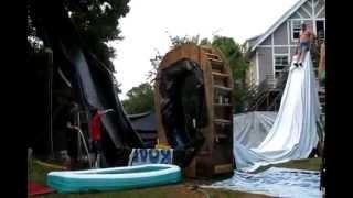 Epic Backyard slip-n-slide | WOTD