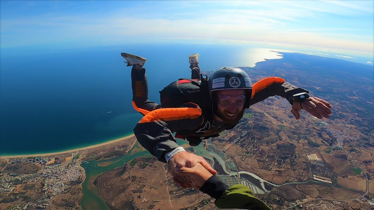 Learn to Skydive - AFF levels 1 to 7 - in the Algarve - Student Will