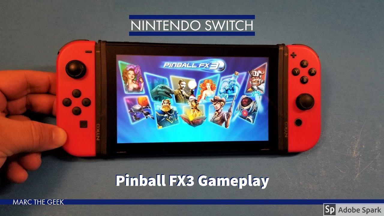 Nintendo Switch: PInball FX3 Gameplay