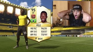 PELE AND RONALDO IN THE SAME FIFA 17 PACK OPENING OH MY GODDDDD!!!