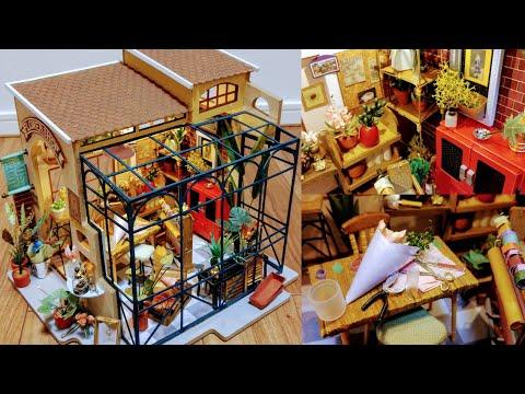Download Miniature Dollhouse Kit | Robotime - Emily's Flower Shop