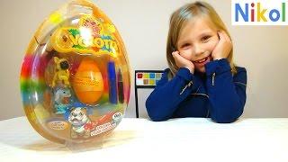Открываем игрушки и яйцо с сюрпризом  ,, Щенки ищут Друзей ' cuccioli cerca amici NICOL