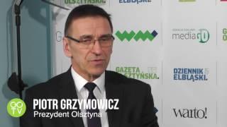 """""""Informator olsztyński"""" - prezydent Piotr Grzymowicz w studio GOTV"""