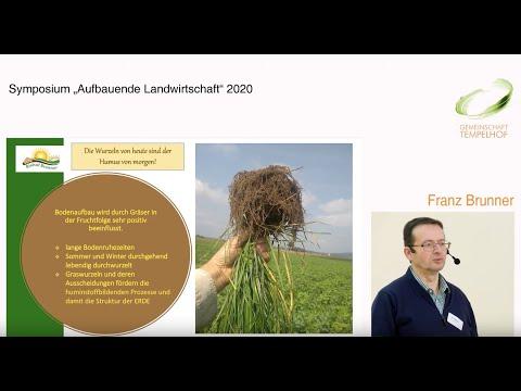 """Franz Brunner // Die Wurzeln von heute sind der Humus von morgen // Symposium """"Aufbauende LaWi"""" 2020"""
