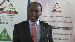 KFCB CEO Ezekiel Mutua at Karatina University