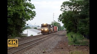 ⁴ᴷ Norfolk Southern & Transit At Rutherford