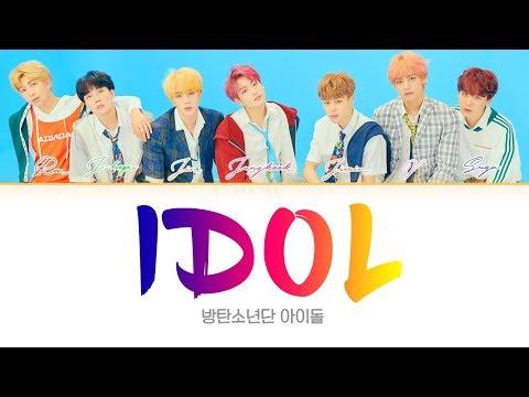 BTS (방탄소년단) - IDOL [Color Coded Lyrics Han/Rom/Eng/가사]