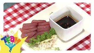 Snaks Naman: Tuna Sashimi   Team Yey
