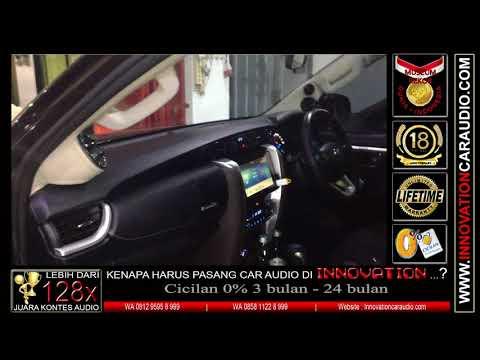 Paket audio mobil Fortuner Vrz   1 hari pengerjaan   Innovation car audio Jakarta