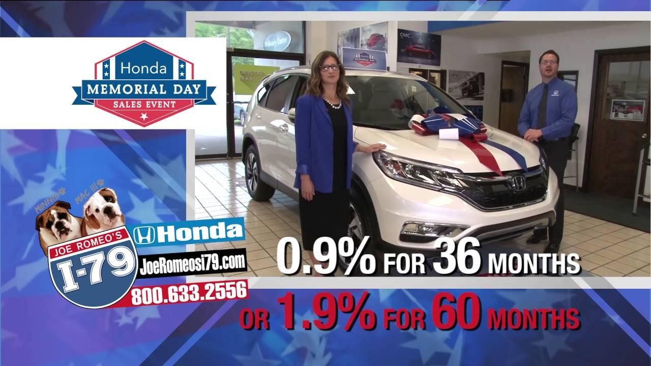 I-79 Honda Memorial Day 0.9/1.9 - YouTube