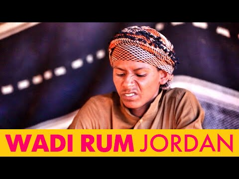 Wadi Rum. Jordan. As Bedouins living in the desert