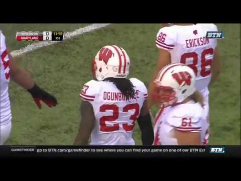 College Football - Wisconsin at Maryland on 11-7-2015