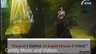 Regine Velasquez - All By Myself (SOP - 1999)