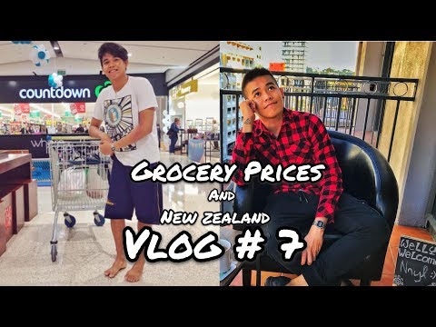 New Zealand Grocery Prices and Wellington Vlog   Filipino In New Zealand