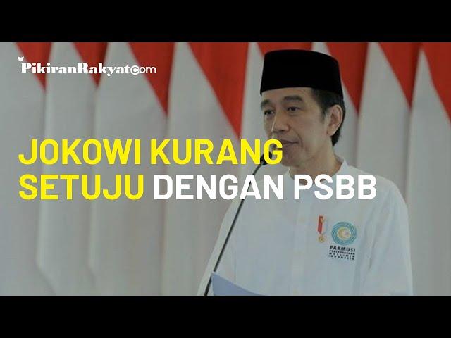 Kurang Setuju dengan PSBB, Jokowi Beri Solusi Lain yang Dinilai Bisa Lebih Menekan Penularan Corona
