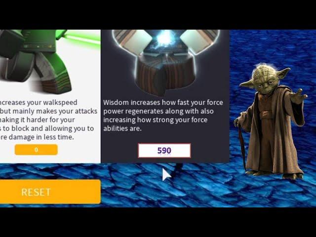 590 Wisdom Unlimited Power Ilum 2 Roblox Star Wars Youtube