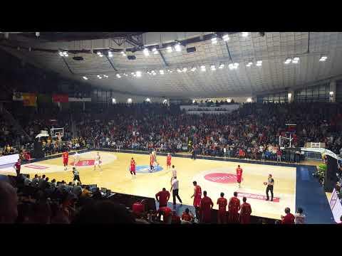 Montenegro vs Latvia 74:80 incredible atmosphere