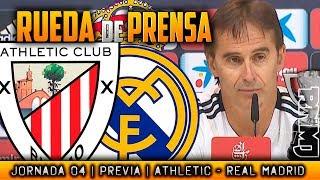Athletic - Real Madrid Rueda de prensa de LOPETEGUI (14/09/2018) | PREVIA LIGA JORNADA 04