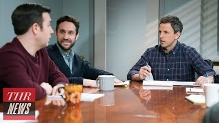 """Seth Meyers Discusses the """"Frustrating"""" Challenge of Keeping Up With President Trump 