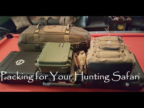 Packing For Your African Hunting Safari