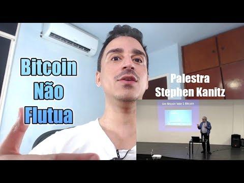 Bitcoin Não Flutua é Sua Moeda de M# que Flutua - Palestra Stephen Kanitz