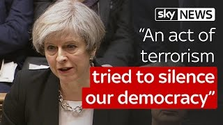 London Terror Attack: 'We are not afraid', says PM Theresa May in Commons speech