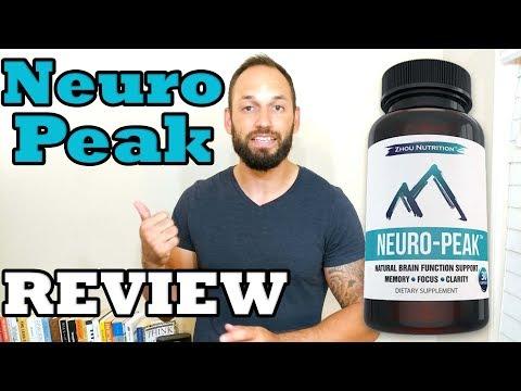Top Selling Brain Supplement Neuro-Peak  Nootropic Supplement Review