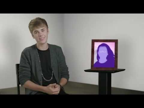 Justin Bieber grabó un video para los padres de sus fans