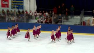 Skyliners Synchronized Ice Skating - Junior Short Program - Porter Classic (Michigan) 2011