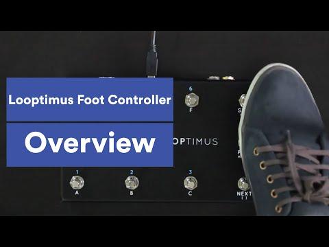 Looptimus USB MIDI Foot Controller Overview