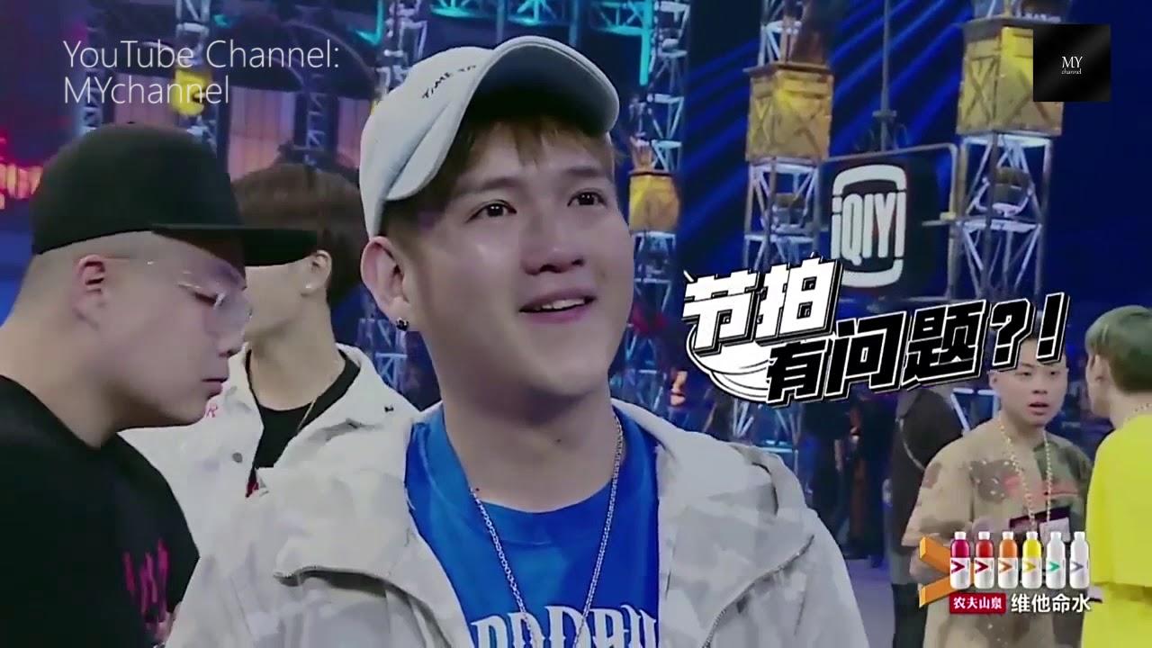 【中國有嘻哈】沈懿 唱的大灌籃曲子-戰舞 絕對比「開始找我的WIFI」好 - YouTube