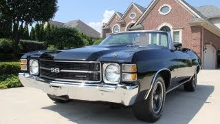 1971 Chevrolet Chevelle Convertible Classic Muscle Car for Sale in MI Vanguard Motor Sales