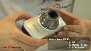 Видео Canon Digital Ixus 990 IS hands on review by SimplyElectronics.net (автор: SimplyElectronics)