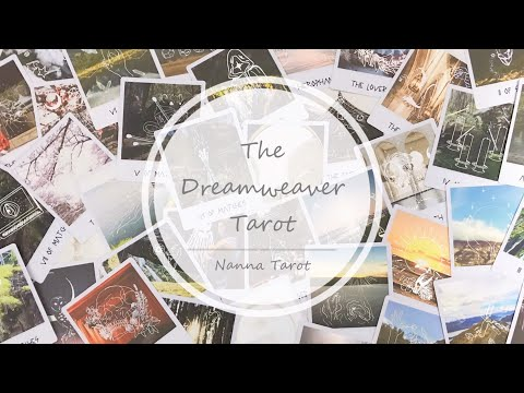 開箱  織夢塔羅牌 • The Dreamweaver Tarot // Nanna Tarot