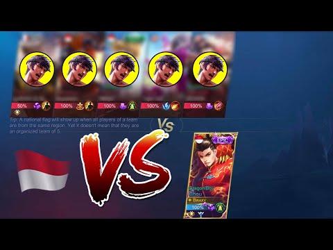 BRAXY VS 5 SUBSCRIBERS | WHO WIN? - Mobile Legends