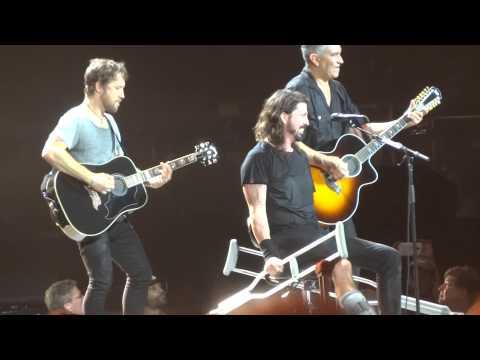 """My Hero (Acoustic)"" Foo Fighters@Susquehanna Bank Center Camden, NJ 7/6/15"