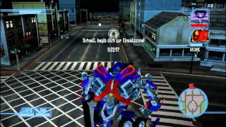 Let's play Transformers The Game[BLIND] Deutsch Part 7 - Optimus Prime!