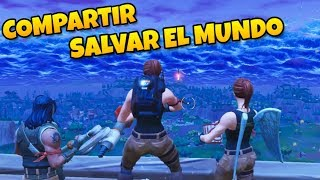 HOW TO SHARE SAVE THE WORLD FOR FREE WITH FRIENDS [FORTNITE]