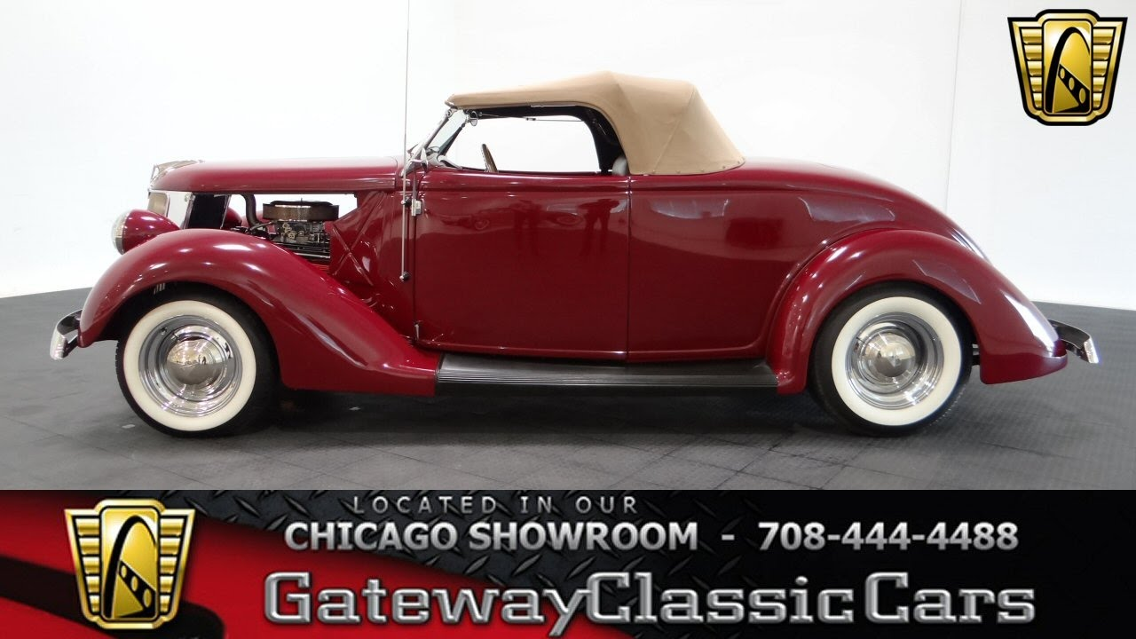 1936 Ford Roadster Gateway Classic Cars Chicago #1062 - YouTube