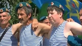 Душевное исполнение песни десантниками в Сызрани