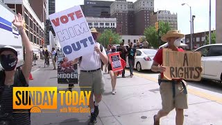 Protesters And Trump Supporters Face Off Outside President's Tulsa Rally | Sunday TODAY